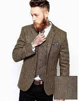 Твідовий, вовняний піджак, костюм, пальто
