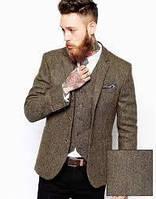 Твидовый, шерстяной пиджак, костюм, пальто