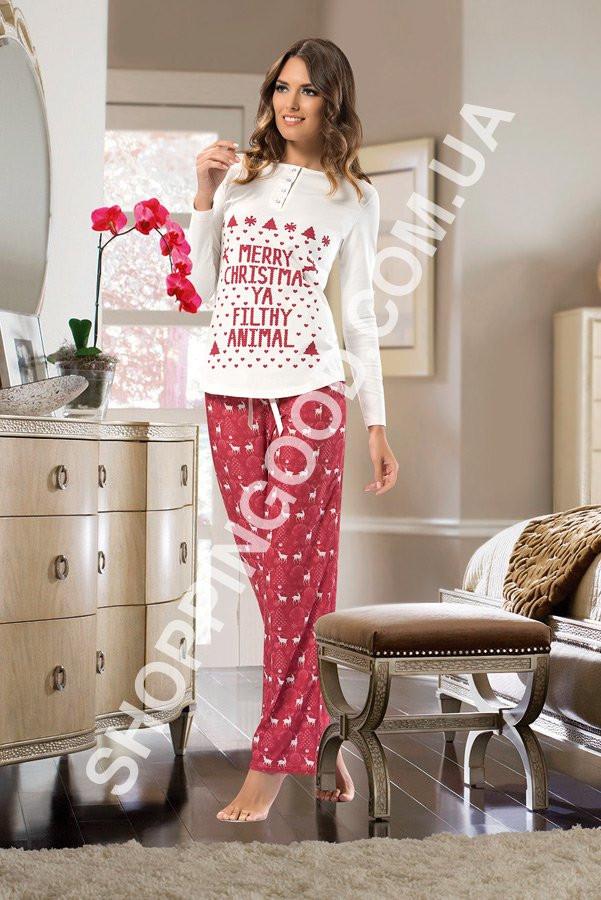 a8f7df405c56c Женская пижама Shirly 5884, домашний костюм с брюками