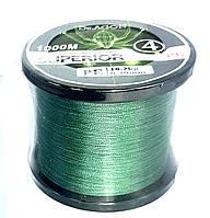 Рыболовный плетеный шнур 4  жильный Dr.AGON диаметром от:0.14 мм. до 0.40 мм.