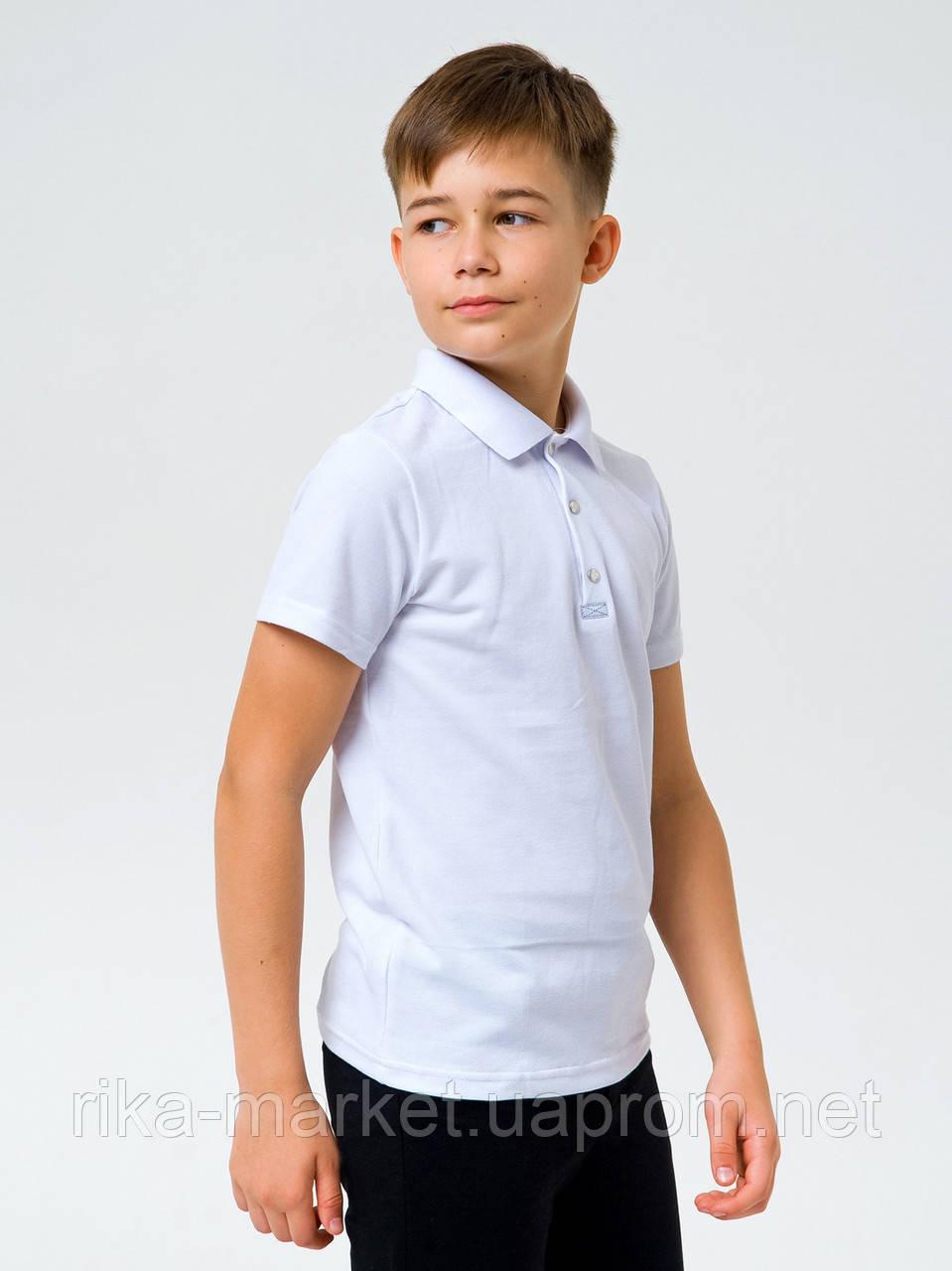 Футболка-поло для мальчика Смил 114733  6 - 14 лет