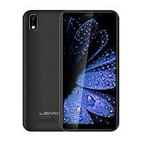 Смартфон бюджетный, черный, тонкий безрамочный на 2 сим карты Leagoo Z10 black