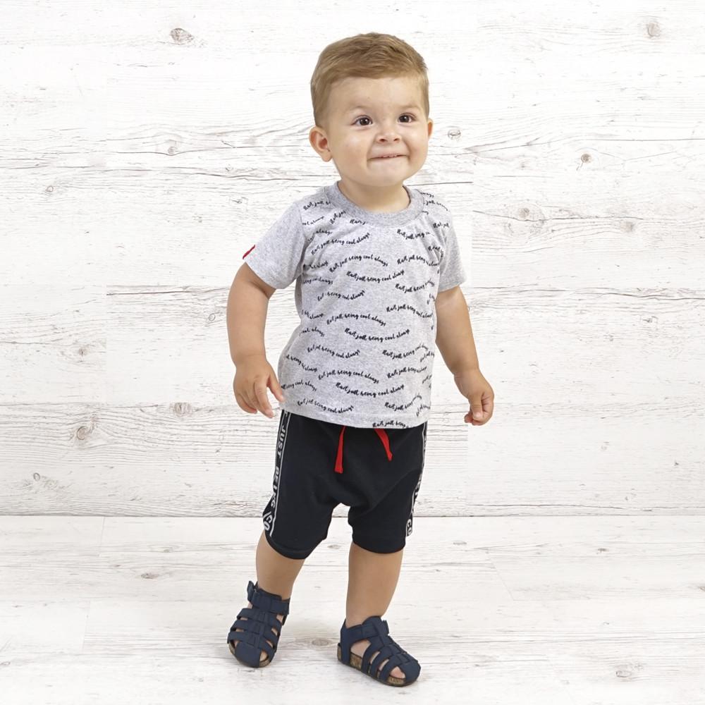 """Летний костюм для мальчика шорты и футболка """"Start"""" - рост 80/86/92/98, в расцветках"""