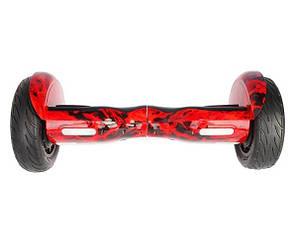 ГИРОСКУТЕР SMART BALANCE10.5 Wheel Красное пламяTaoTao APP автобаланс гироборд Гіроскутер, фото 2