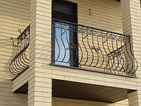 Кованые перила на балкон арт.№ 38