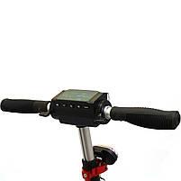 Электросамокат Scale Sports дисплей управления, Led-фонарик 350Ватт 35км/ч аккумулятор 8Ah36V чёрный, фото 4