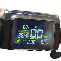 Электросамокат Scale Sports дисплей управления, Led-фонарик 350Ватт 35км/ч аккумулятор 8Ah36V чёрный, фото 7