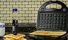 Сэндвичница, гриль, вафельниця, з трьома змінними пластинами 3 в 1 DSP KC1049, фото 6