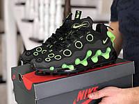 Мужские кроссовки (в стиле) Nike air max 720 ISPA,черные с зеленым