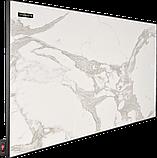 Керамическая тепловая электрическая ИК панель Теплокерамик ТСМ 600 мрамор 692179, фото 3