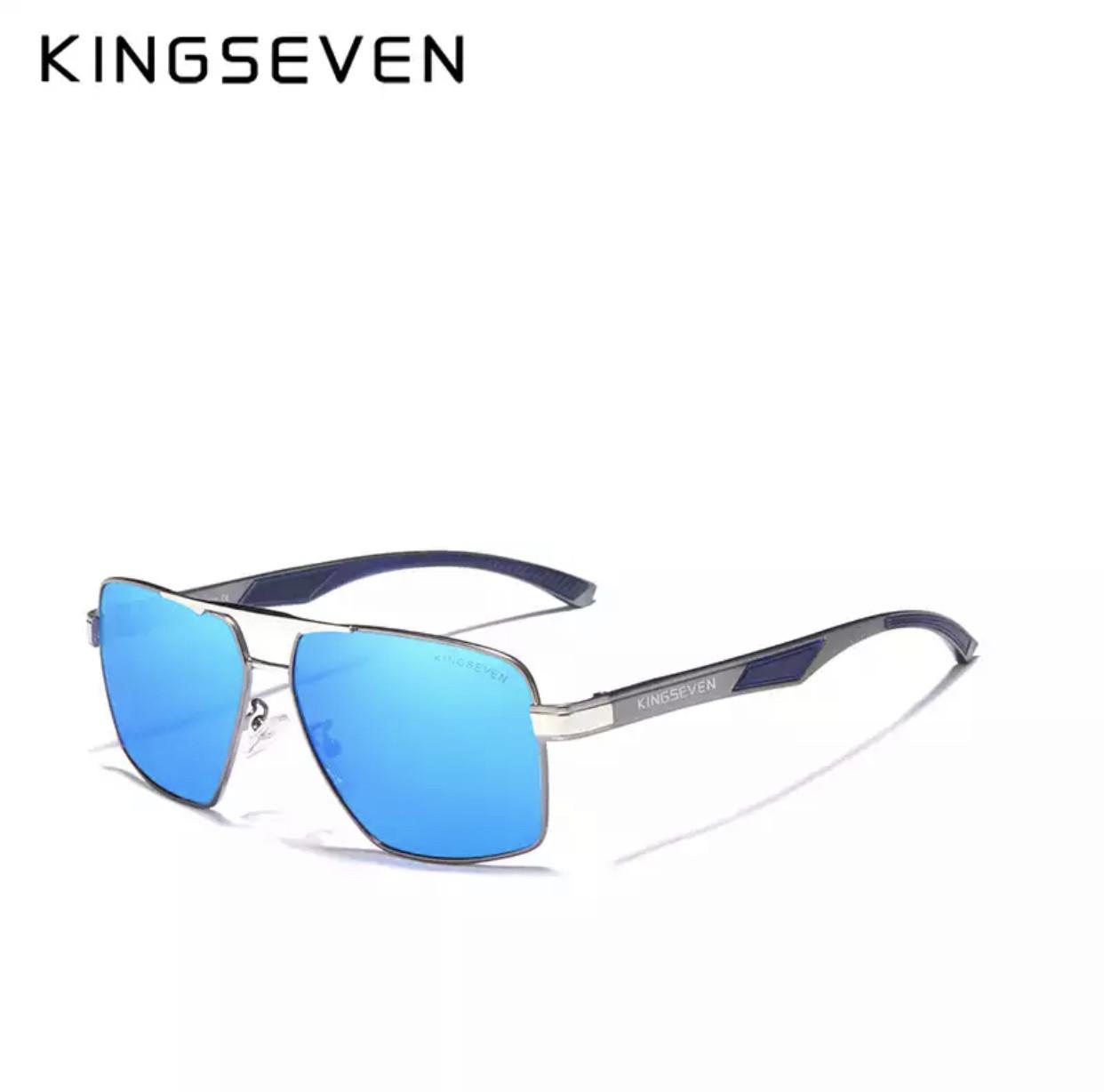 Очки мужские солнцезащитные поляризационные Kingseven, blue