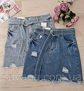 Женская джинсовая юбка. АР-0-0720