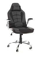 Офисное компьютерное кресло VERONI LUX чероне, эко-кожа