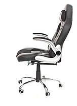 Офисное компьютерное кресло VERONI LUX чероне, эко-кожа, фото 2