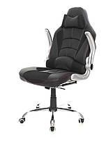 Офисное компьютерное кресло VERONI LUX чероне, эко-кожа, фото 3