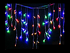Гирлянда светодиодная LTL Sople занавес 100 led длина 3.2 метра разноцветная RGB, фото 6
