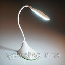 Настольная светодиодная лампа Tiross TS-1823 аккумуляторная 900 mAh, USB, 220v, 20 smd LED, touch выключатель