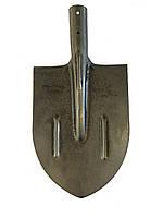 Лопата штыковая ЛКО (лаковое покрытие, рельсовая сталь) усиленная