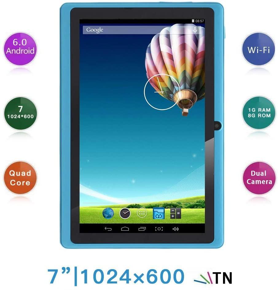 "Планшет Haehne 7"", 1/8Gb, Android 6.0, LCD 1024 х 600, Sky Blue (HN-PC-Q8NO-Azure)"