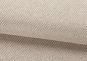 Ткань для штор Рогожка молочная солнцезащитная, затемняющая, Турция