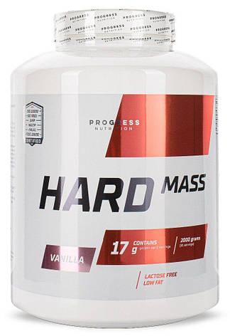 Гейнер Hard Mass 2000g вкус Progress Nutrition, фото 2