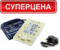 Вимірювач тиску автоматичний longevita bp-102 з адаптером та манжета LUX L 22-42см.