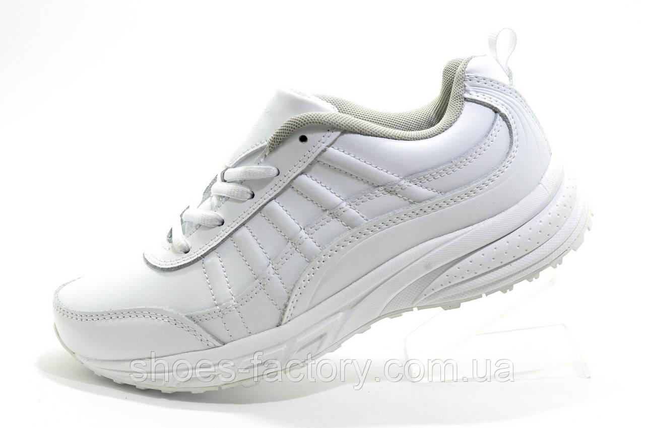Білі жіночі кросівки Bona, Шкіра