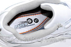 Білі жіночі кросівки Bona, Шкіра, фото 3