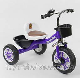Велосипед трехколесный LM-1355 Best Trike.Фиолетовый PS