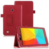 Кожаный чехол-книжка TTX с функцией подставки для LG G Pad 7.0 V400(V410) Красный