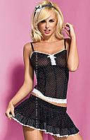 Корсет Obsessive SERVANTA corset & skirt