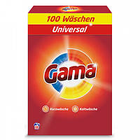Пральний порошок для універсального білизни Gama 3в1 100 стир
