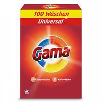Стиральный порошок для универсального белья Gama 3в1 100 стир