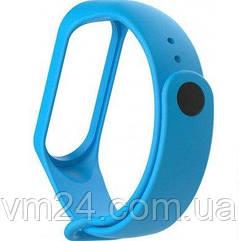 Ремешок Xiaomi Mi Band 5 качественные силиконовый ремешок -голубой