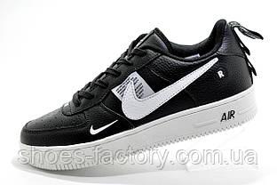 Мужские кроссовки в стиле Nike Air Force 1 '07 Lv8 Utility, Black\White