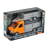"""Автомобіль """"Mercedes-Benz Sprinter"""" бортовий з причіпом (помаранчевий), Tigres"""