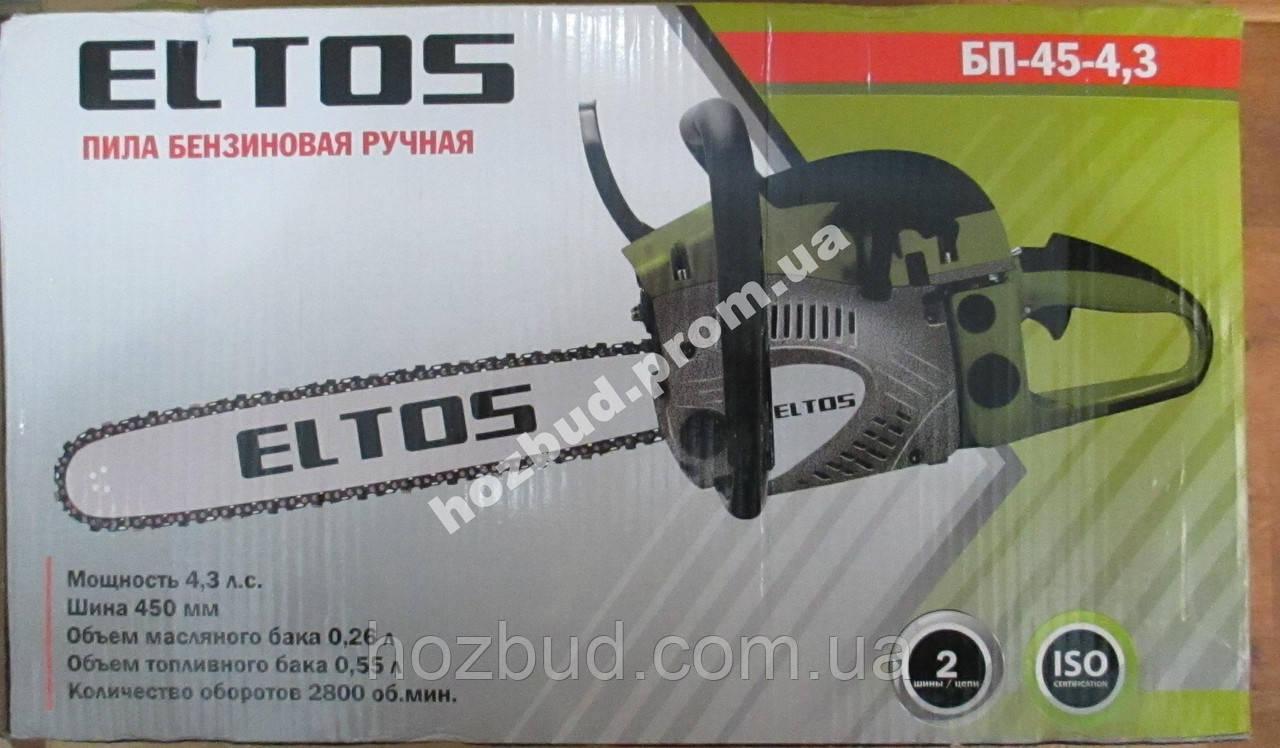 Бензопила ELTOS БП-45-4.3
