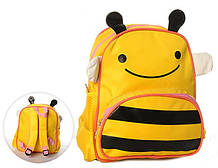 Маленький детский рюкзак для малышей Пчелка MK 1292