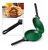 Двухсторонняя сковорода для приготовления блинов и панкейков Pancake Maker, Сковородки, фото 5