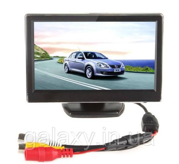 Автомобільний монітор два відеовходи LCD 4.3 дюйма