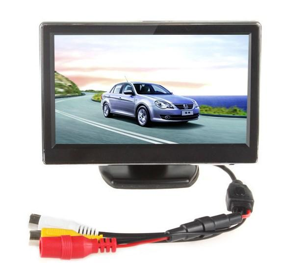 Автомобильный монитор два видеовхода LCD 4.3 дюйма