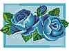 Схема для вишивки бісером Сб-418 Небесні троянди