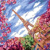 Картина по Номерам Весна в Париже