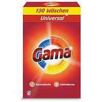 Стиральный порошок для универсального белья Gama 3в1 130 стир