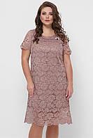 Кружевное платье Элен большого размера 52-58 разные расцветки