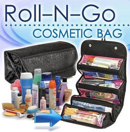 Roll N Go Cosmetic Bag Косметичка ,дорожная сумка органайзер для косметики, фото 2