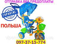 "Детский трехколесный велосипед Baby Club ""Winie the Pooh"" BC 15 M1 Винни Пух"
