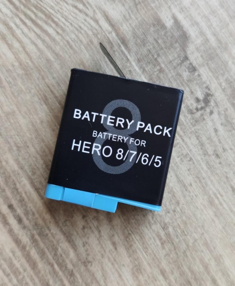 Аккумулятор GoPro HERO8 HERO7 HERO6 Suptig AHDBT-801