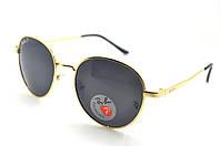 ПОЛЯРИЗОВАННЫЕ СОЛНЦЕЗАЩИТНЫЕ ОЧКИ RAY-BAN P663 Золото-черные