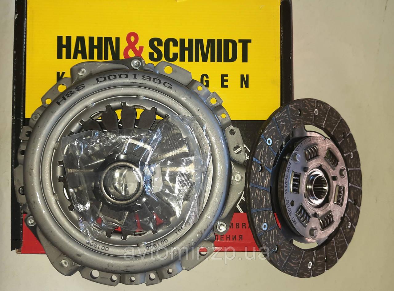 Комплект сцепления с выжимным Ваз 2108-21099,2113-2115 Hahn&Schmidt